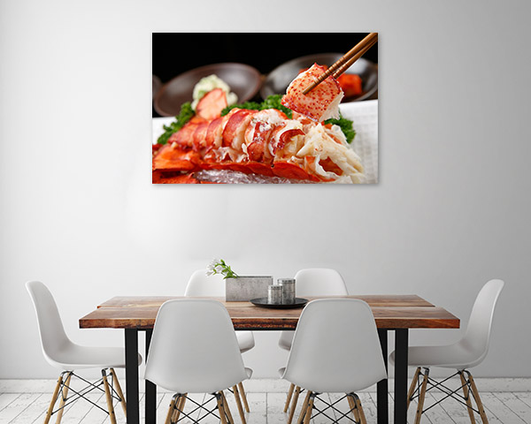 Steamed Lobster Print Photo Art