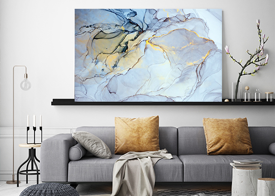 Surreal Ink Flow 11 Artwork Canvas