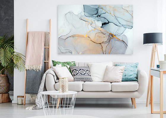 Surreal Ink Flow 12 Print Wall Art