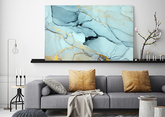 Surreal Ink Flow 13 Canvas Wall Art