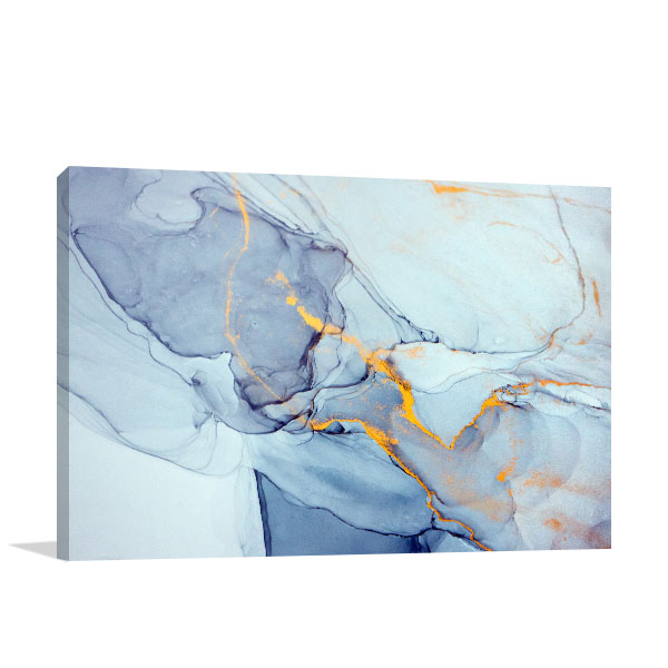 Surreal Ink Flow 14 Canvas Wall