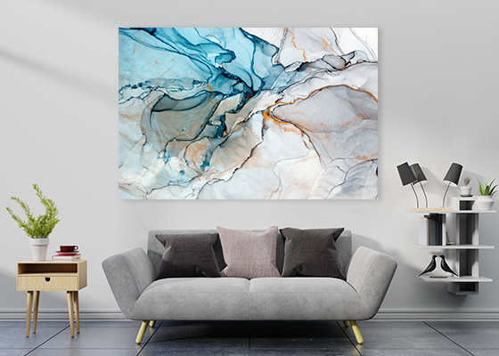 Surreal Ink Flow 15 Canvas Art
