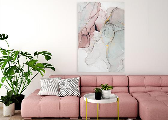 Surreal Ink Flow 17 Wall Artwork