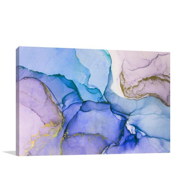 Surreal Ink Flow 20 Artwork Canvas