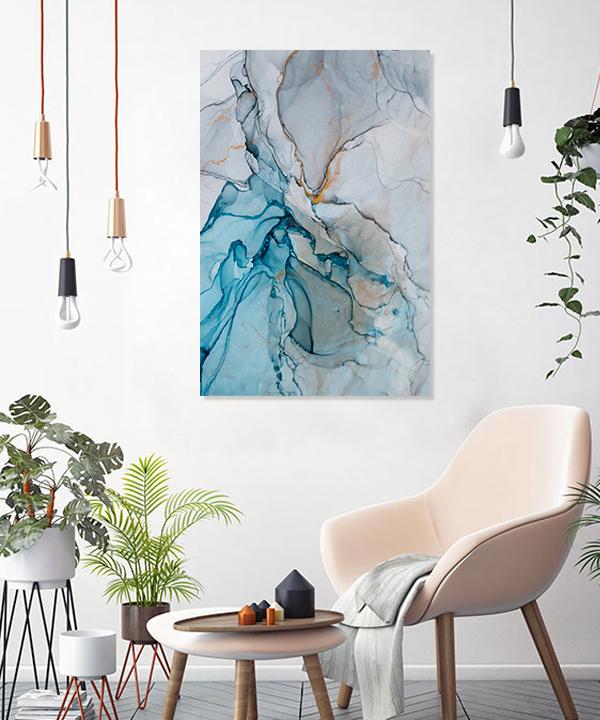 Surreal Ink Flow 4 Canvas Prints