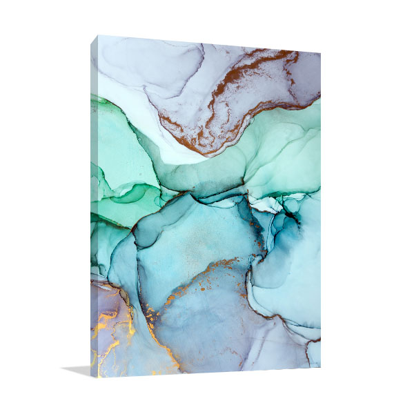 Surreal Ink Flow 8 Canvas Wall Art
