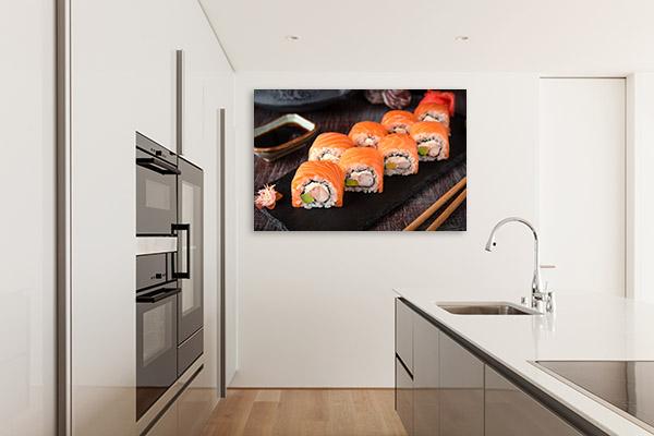 Sushi Art Photo Design