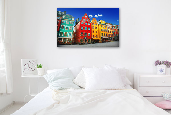 Sweden Art Print Stockholm Wall Picture
