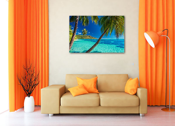 Tahiti Canvas Wall Art