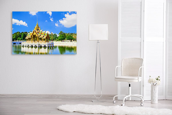 Thailand Art Print Bang Pa In Palace Artwork Wall