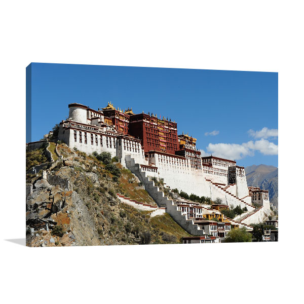 Tibet Art Print Potala Palace Picture Artwork