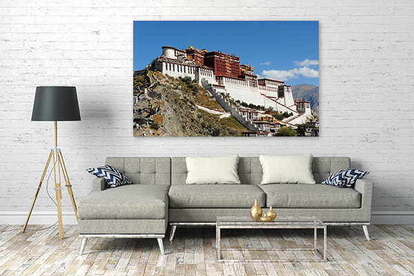Tibet Art Print Potala Palace Wall Picture