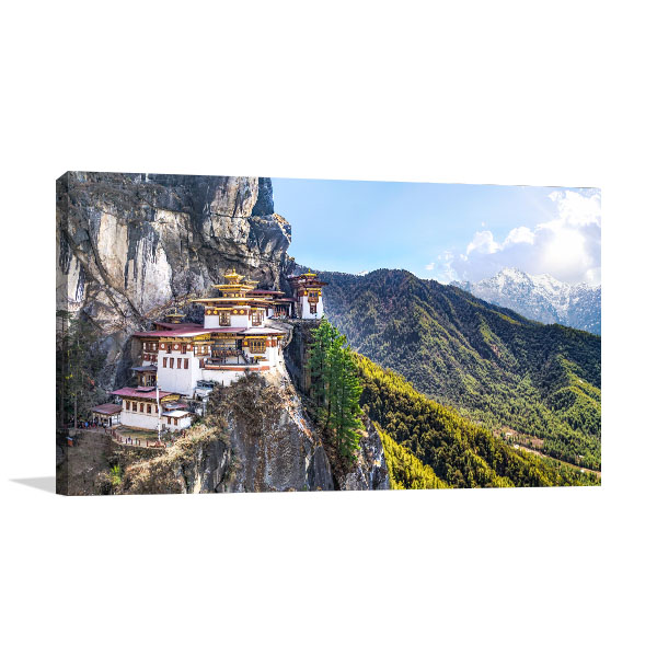 Tigers Nest Canvas Art Prints