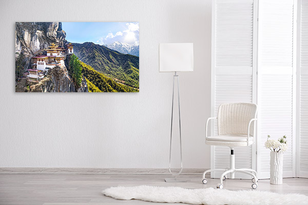 Tigers Nest Canvas Photo Print
