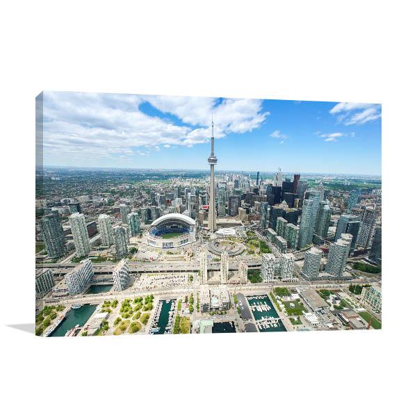 Toronto Art Print Skyline Picture Wall