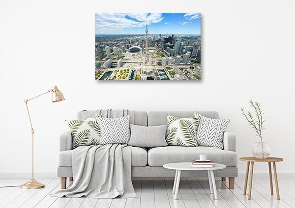 Toronto Art Print Skyline Photo Artwork