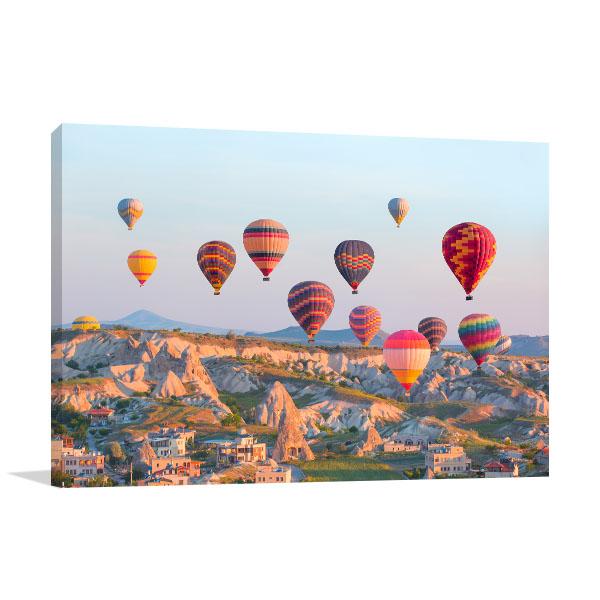 Turkey Wall Art Print Cappadocia Artwork Picture