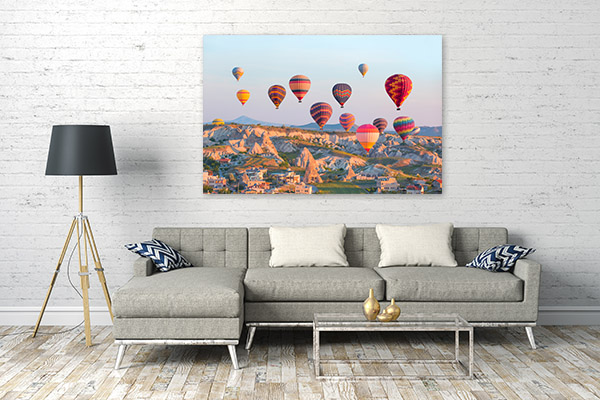 Turkey Wall Art Print Cappadocia Photo Artwork