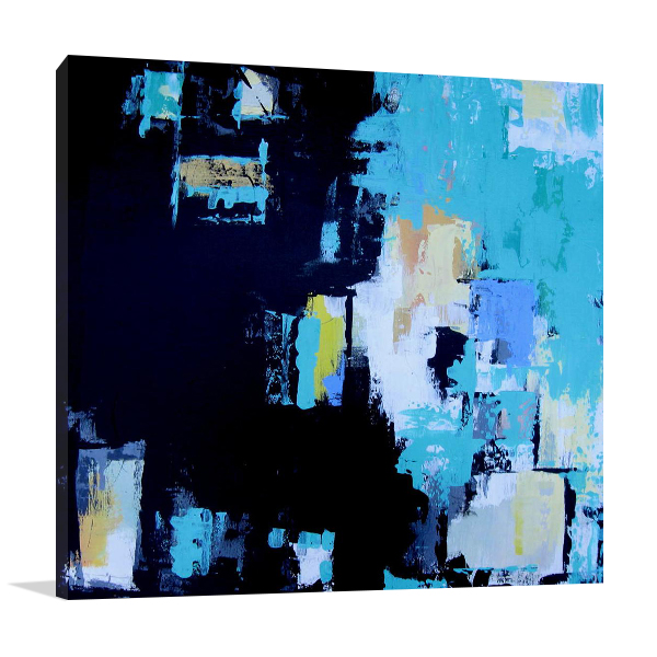 Brooke Howie   Turquoise Abstract Art Prints