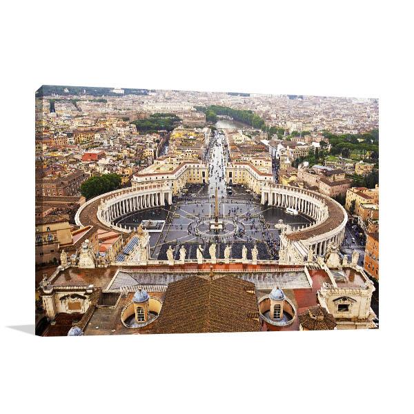 Vatican City Wall Art Print