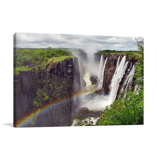 Victoria Falls Print Artwork