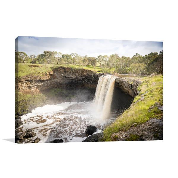 Wannon Falls Canvas Print Victoria Picture Artwork