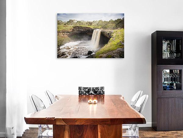 Wannon Falls Canvas Print Victoria Artwork Photo