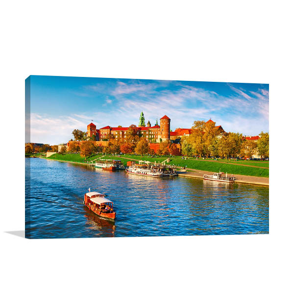 Wawel Castle Art Print Krakow Picture Artwork