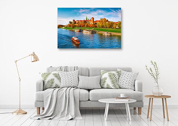 Wawel Castle Art Print Krakow Wall Canvas