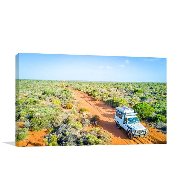 Western Australia Art Print Road Trip Artwork Canvas
