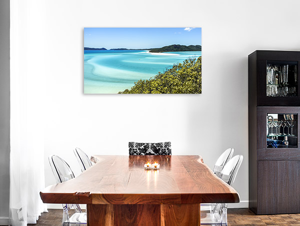 Whitehaven Wall Art Print Queensland Picture Artwork