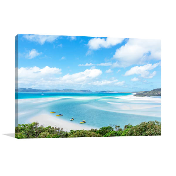 Whitsunday Print Art Canvas