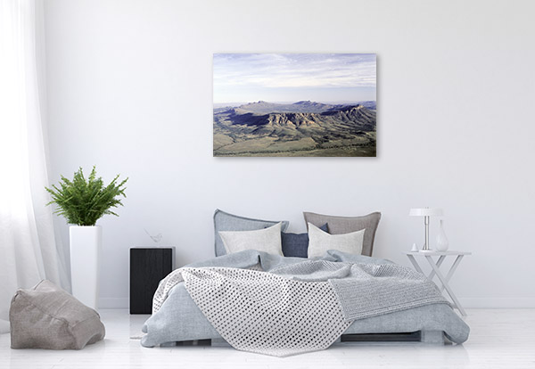 Wilpena Pound Art Print Aerial Shot Wall Picture