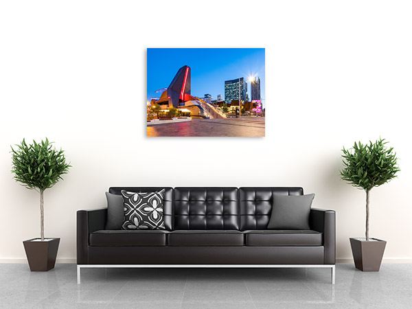 Yagan Square Art Print Perth CBD Artwork Picture