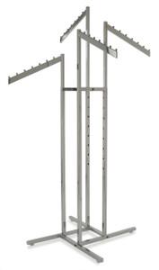 4 Way Clothing Display Racks | Product Display Solutions