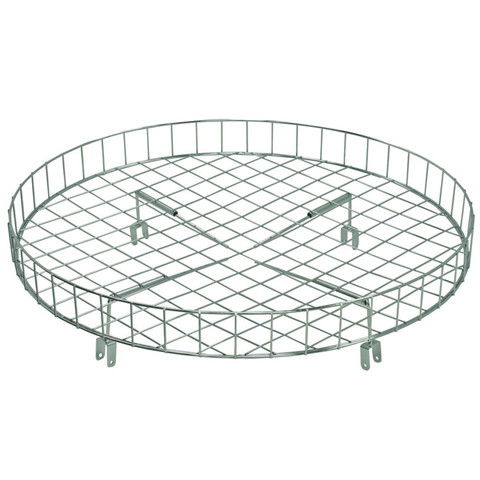 "30"" Wire Basket Topper For Round Clothing Rack"