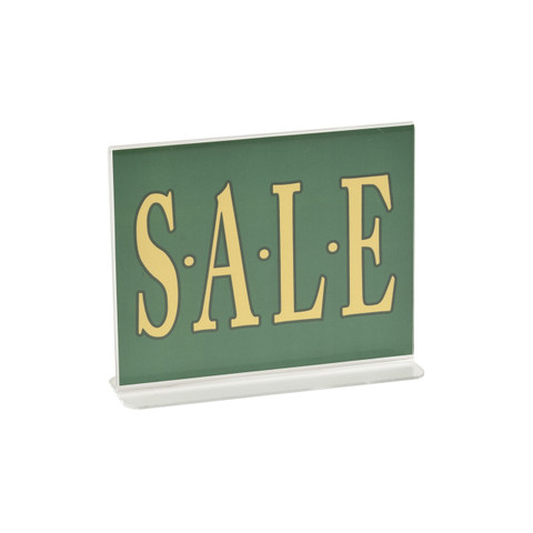 """5.5""""H x 7""""W Double Sided Acrylic Countertop Sign Holder 