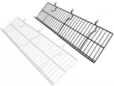 "Gridwall Slanted Shelf 12"" x 46"" 