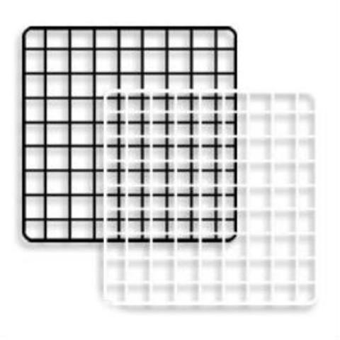 "Mini Grid Panels 14'' x 14""   Black or White   Case of 48"