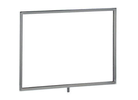 """11""""H x 14""""W Horizontal Sign Holder  3/8"""" Threaded Receiver"""