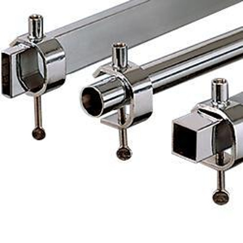 Universal Clamp  3/8 Threaded Receiver | Chrome