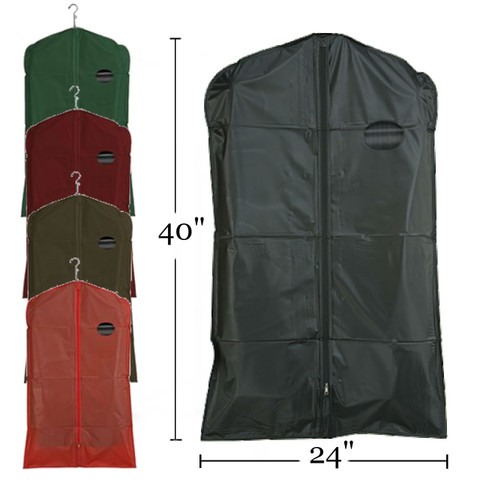 """40"""" PEVA Zippered Suit Cover 