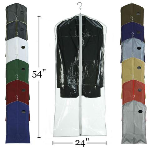 "54"" Vinyl Zippered Dress Cover | Case 100"