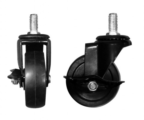"""3"""" Casters WITH Brakes 