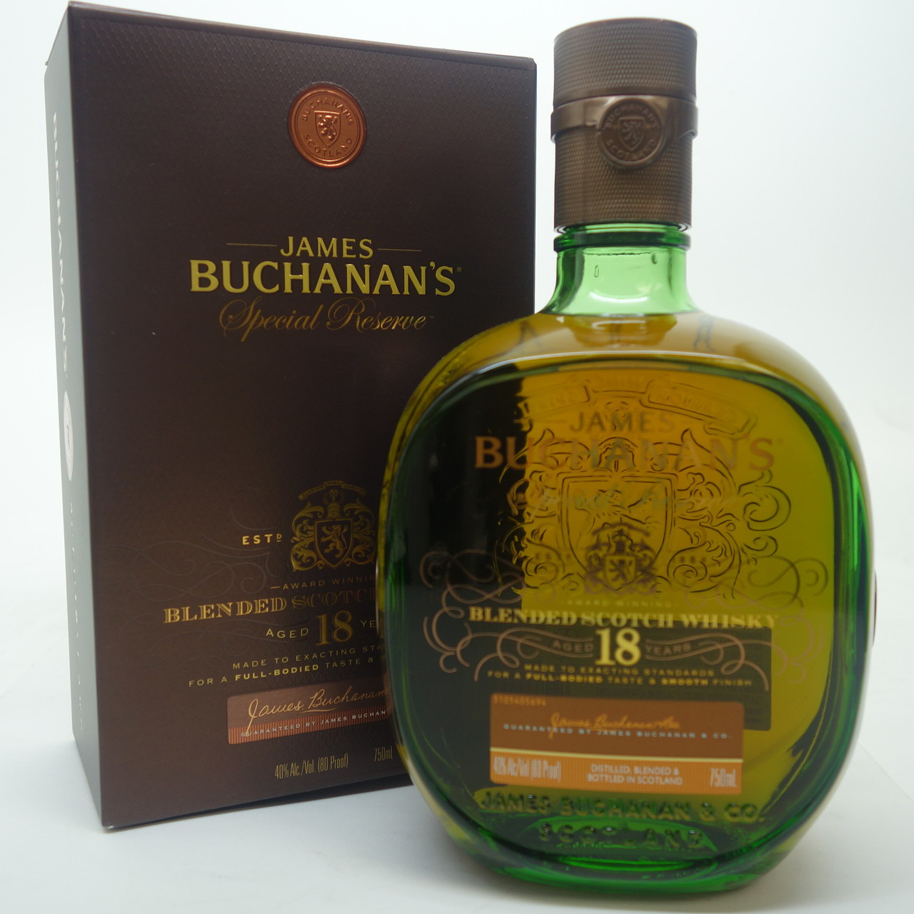 Buchanan Drink: James Buchanan's Epecial Reserve 18 Years