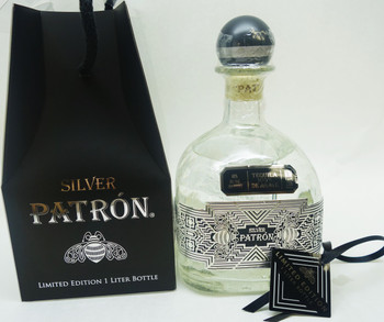 Patron Silver One Liter 2015 Limited Edition Old Town