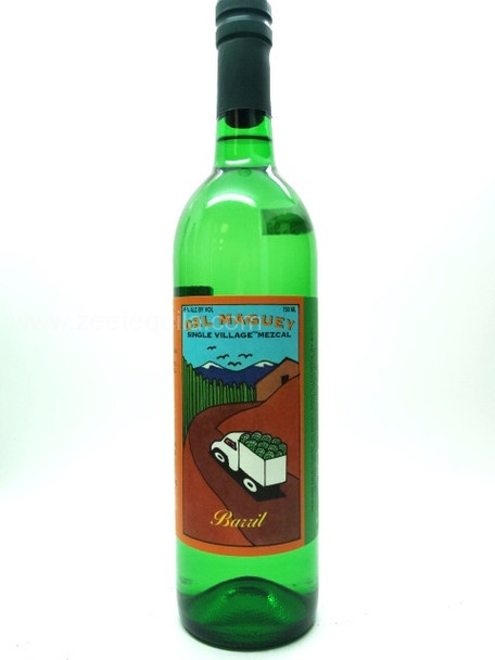 Del Maguey Single Village Mezcal Barril