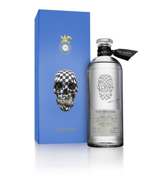 Casa Dragones Gabriel Orozco-Designed Bottles tequila