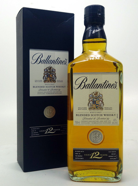 Ballantines Blended Scotch Whiskey Aged 12 Years Old