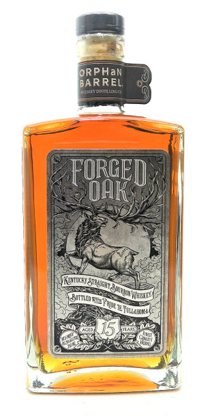 Orphan Barrel Forged Oak 15 Year Old Kentucky Bourbon Whiskey